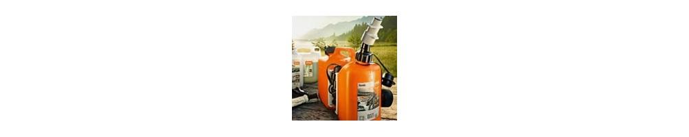 Carburants, Huiles et accessoires